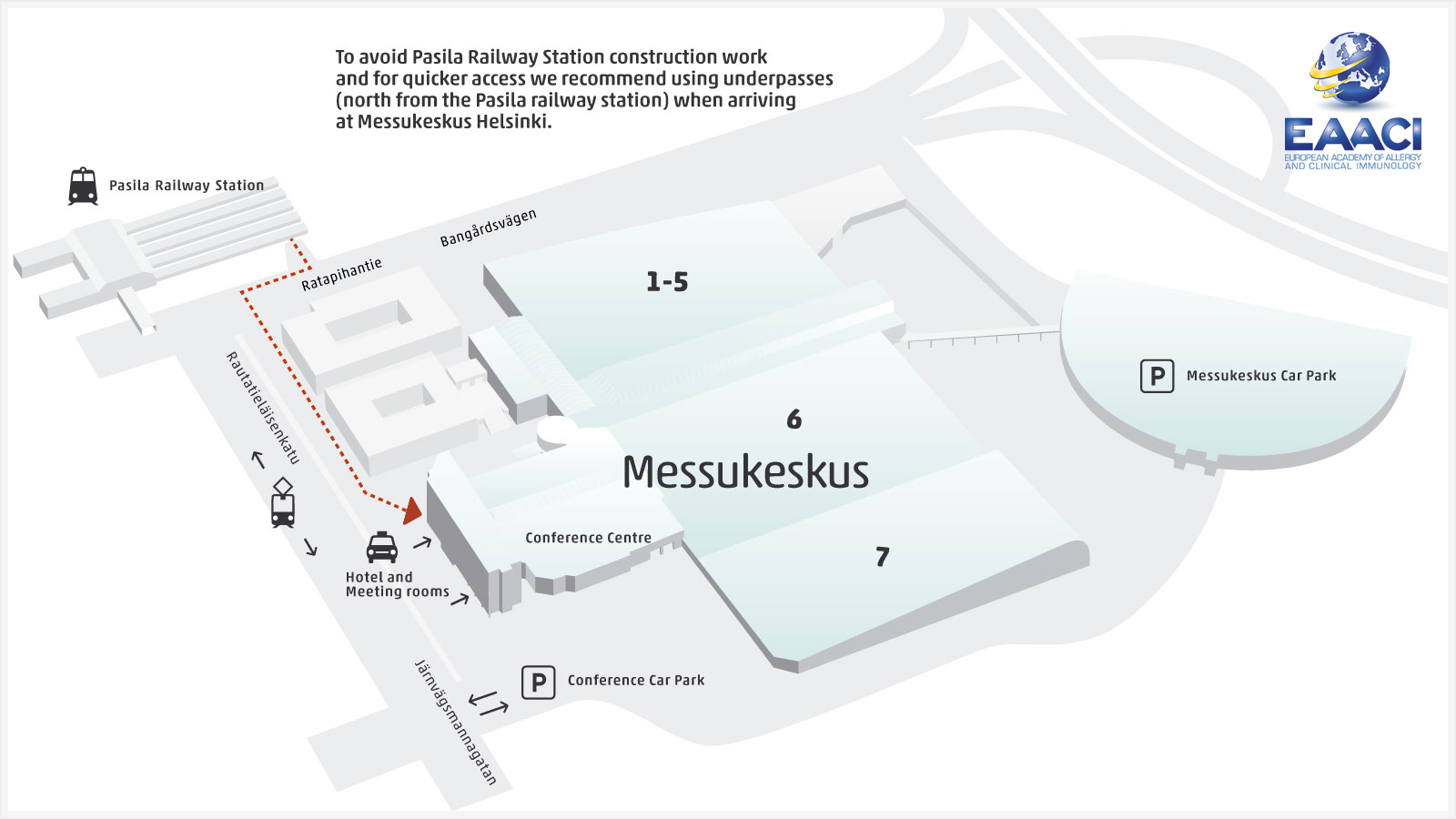 Map Messukeskus Pasila Area en
