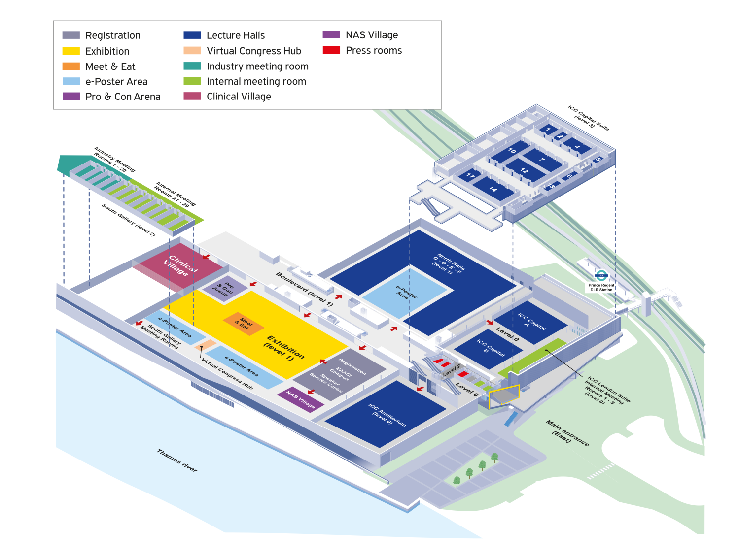EAACI Congress 2020 Venue Layout Updated V2