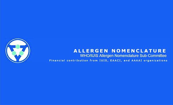 Allergen Nomenclature
