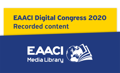 EAACI Digital Congress 2020 - Scientific Content