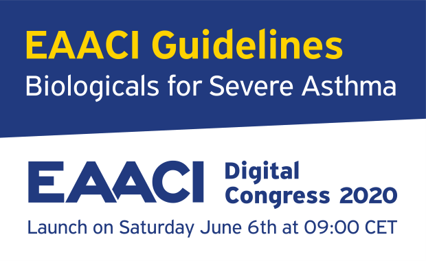 Launch of the EAACI Guidelines Biologicals for Severe Asthma