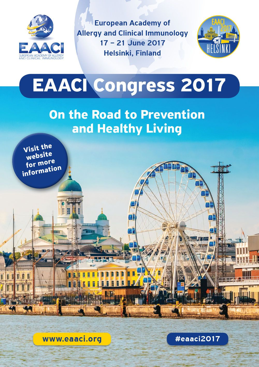 EAACI Congress 2017 - Save the date