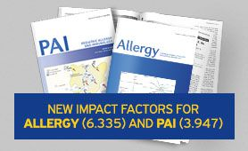 New Impact factors for Allergy and PAI