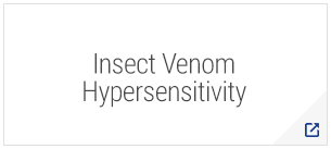 Insect Venom Hypersensitivity