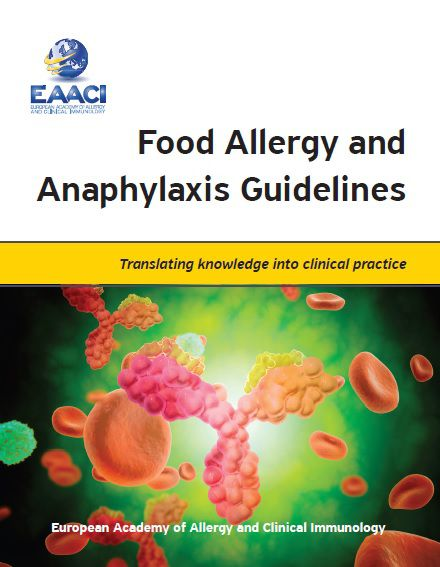food allergy guidelines book cover